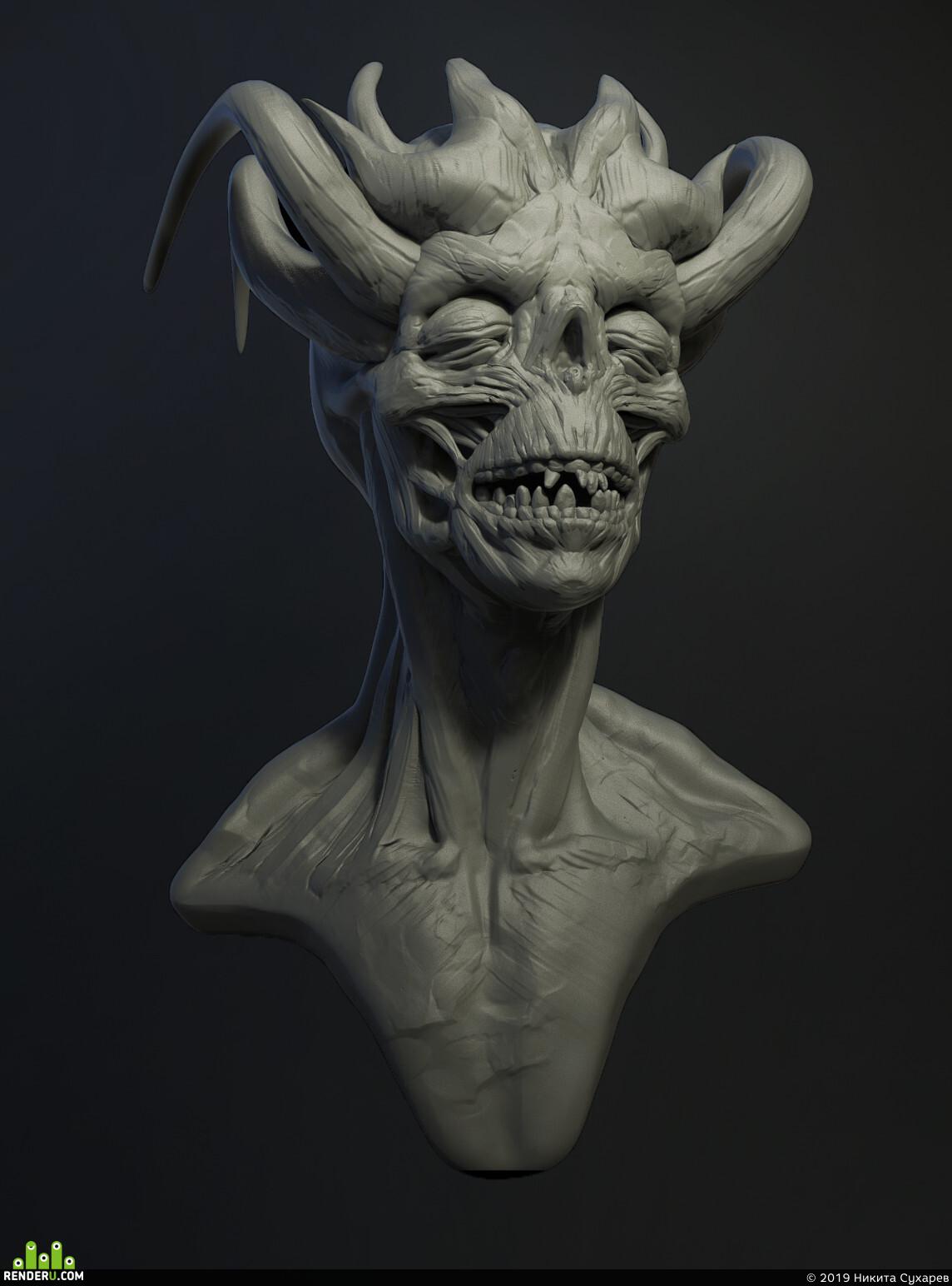 ZBrush, speed sculpt