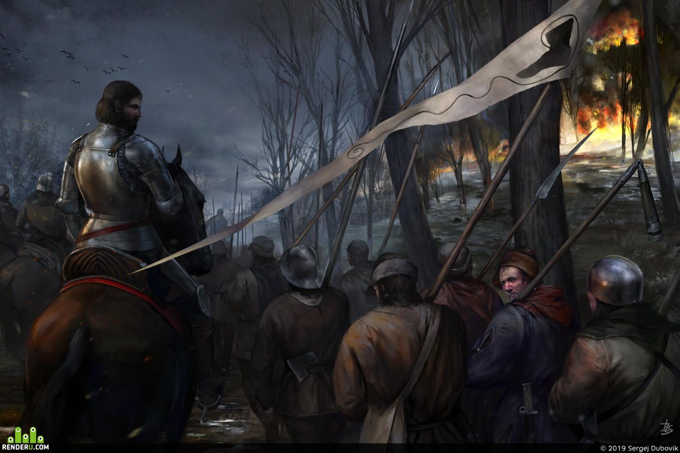 История, восстание, союз башмака