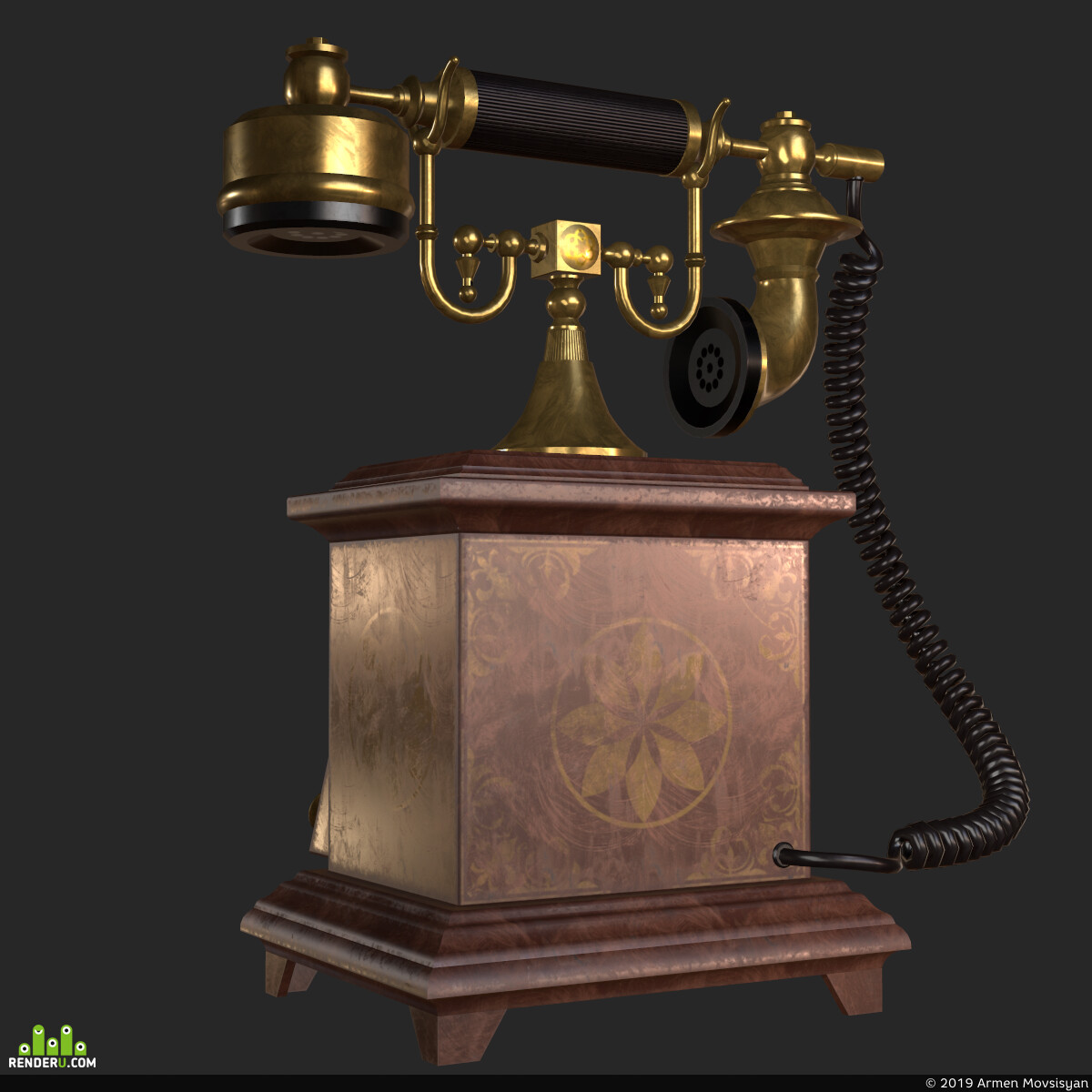 Old, telephone