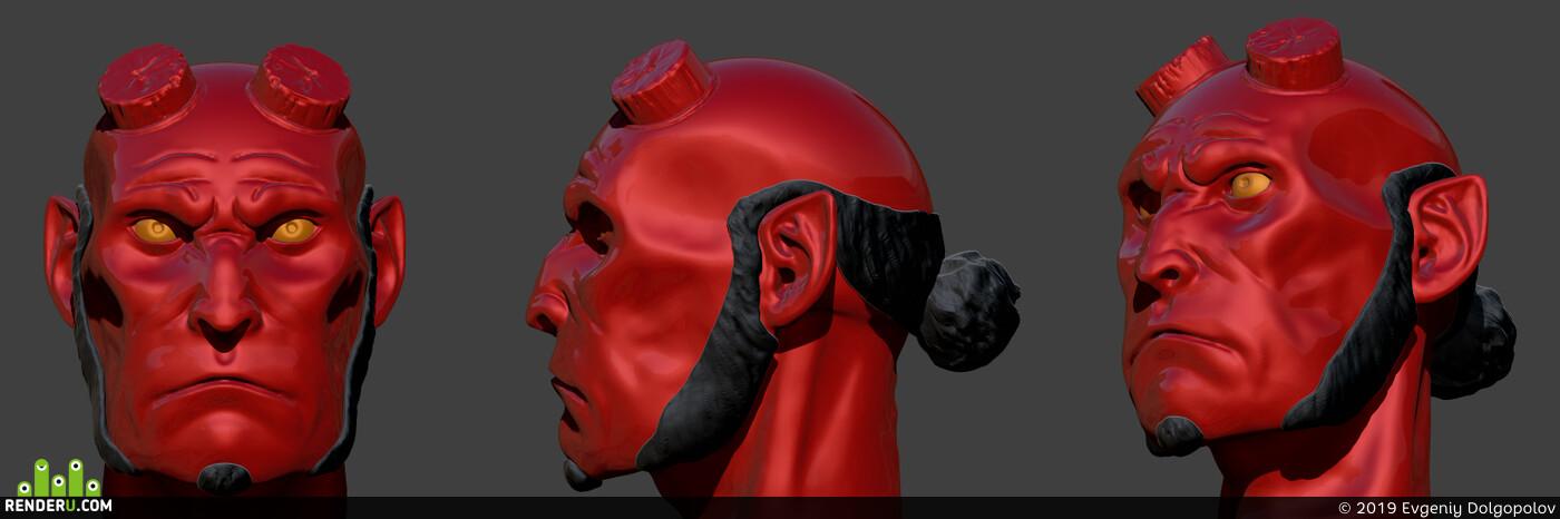 sculpting, ZBrush, zbrush 2018, zbrushsculpt, zbrushhair, Pixologic ZBrush, zbrush brush, ZBrush - 3D Скульптинг