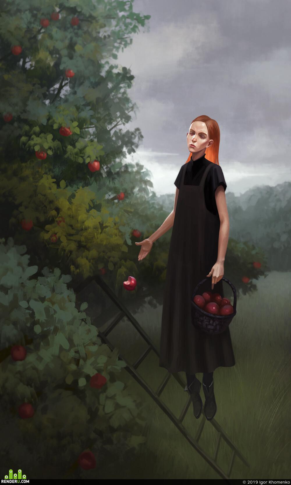 atmosphere, mood, concept, illustration