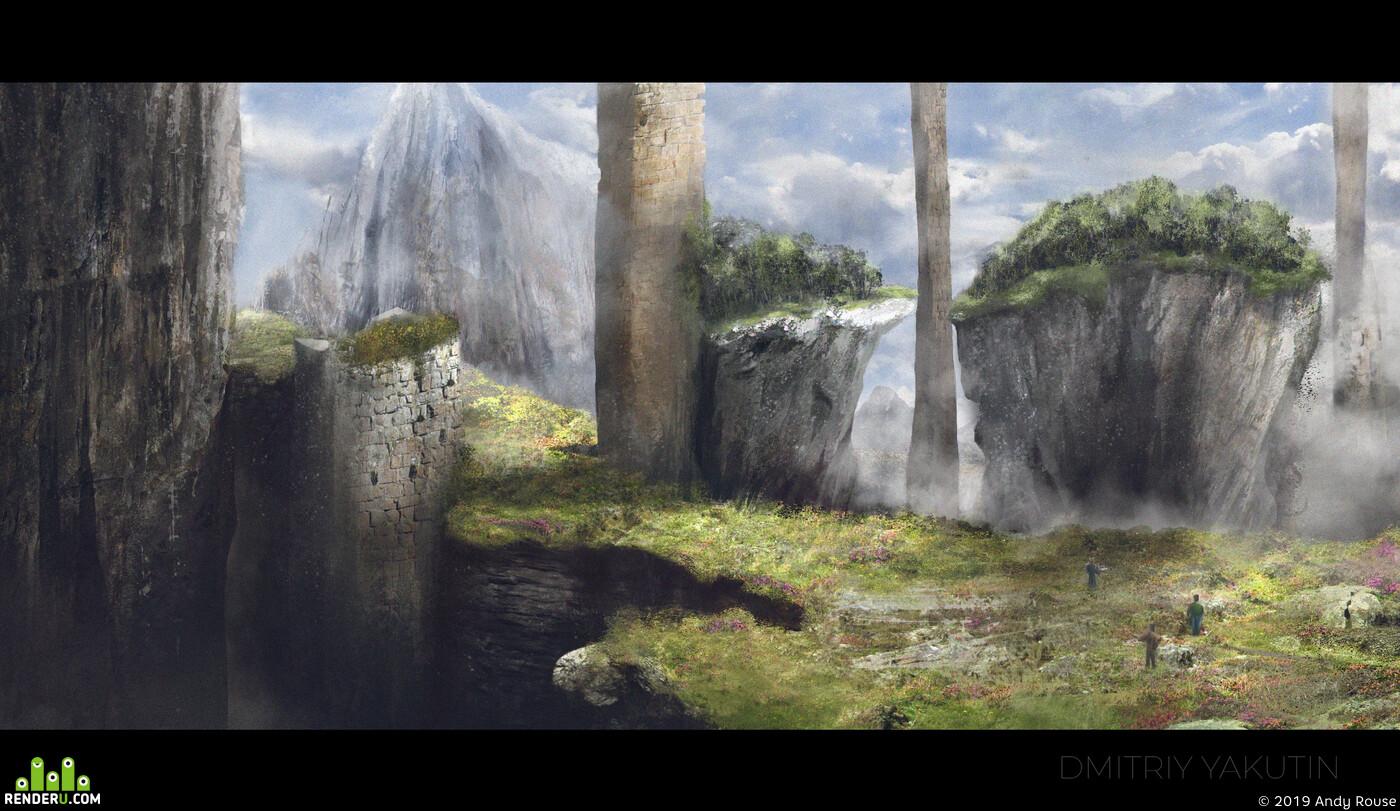 Environments, digital2d, 2D, art, picture, cgart, cgenvironments