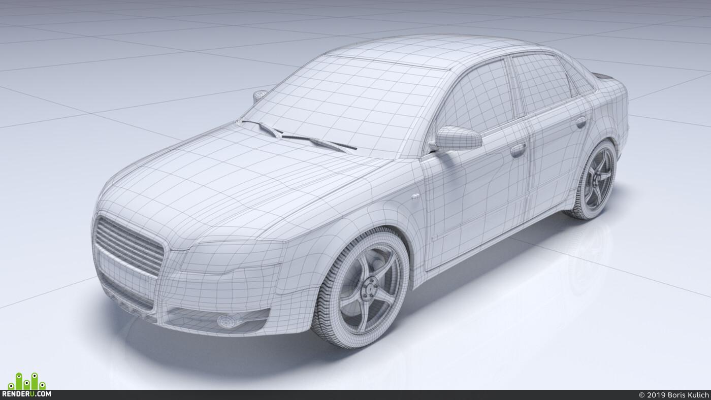 Audi, машина, автомобиль, Авто / мото