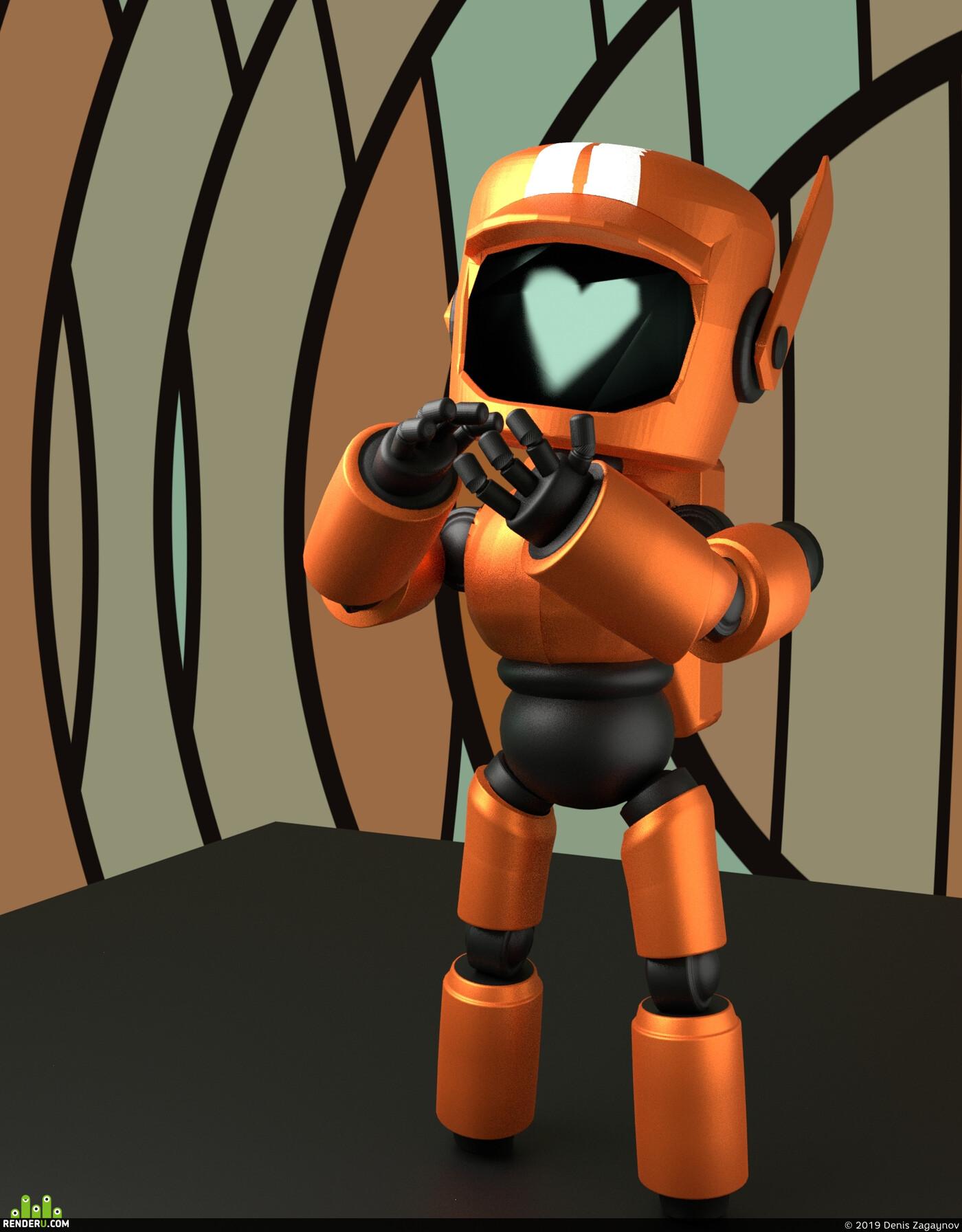робот, любовь смерть и роботы, фанарт