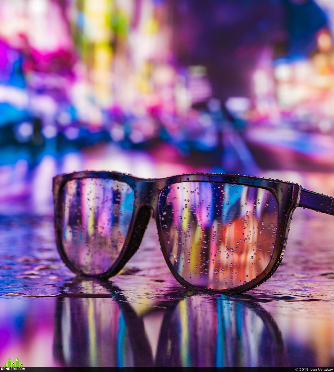 красиво, очки