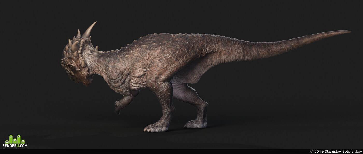 dinosaur, stygimoloch, prehistoric, monster, jurassic, precambrian, period, cretaceous, VFX, herbivorous