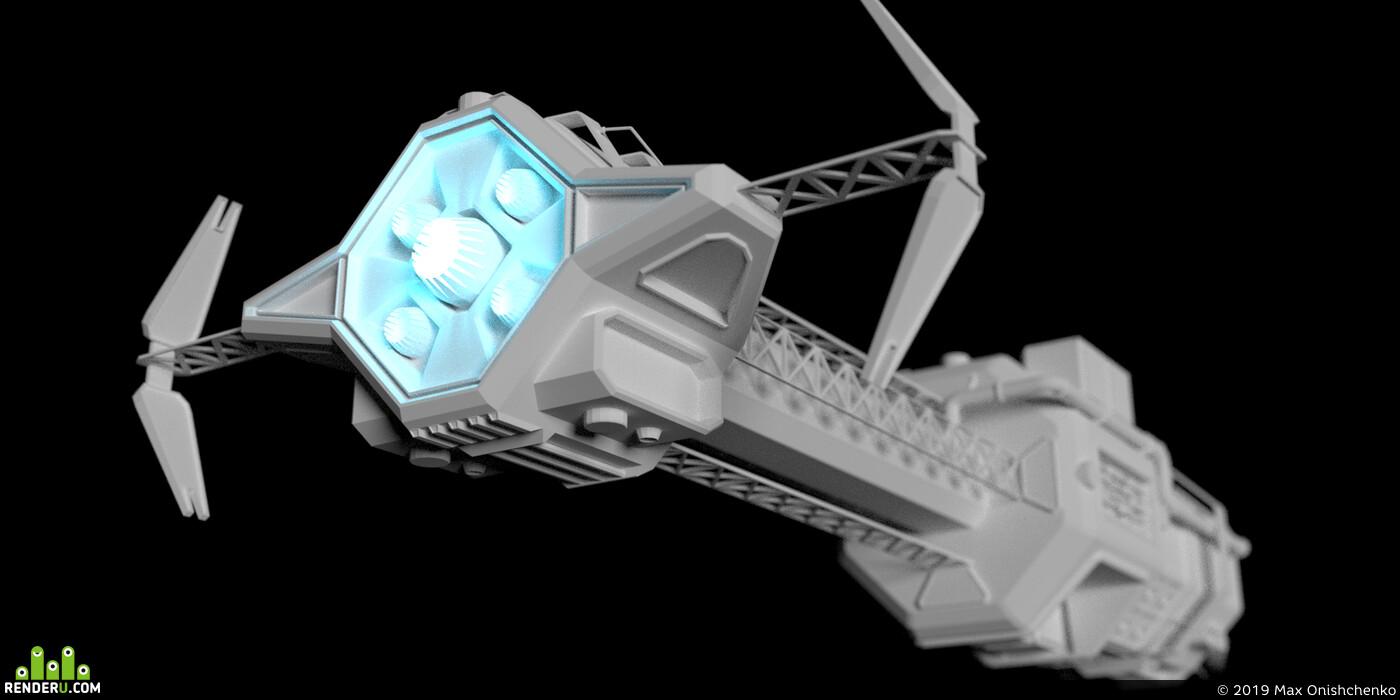 Космос, Космический корабль, Техника