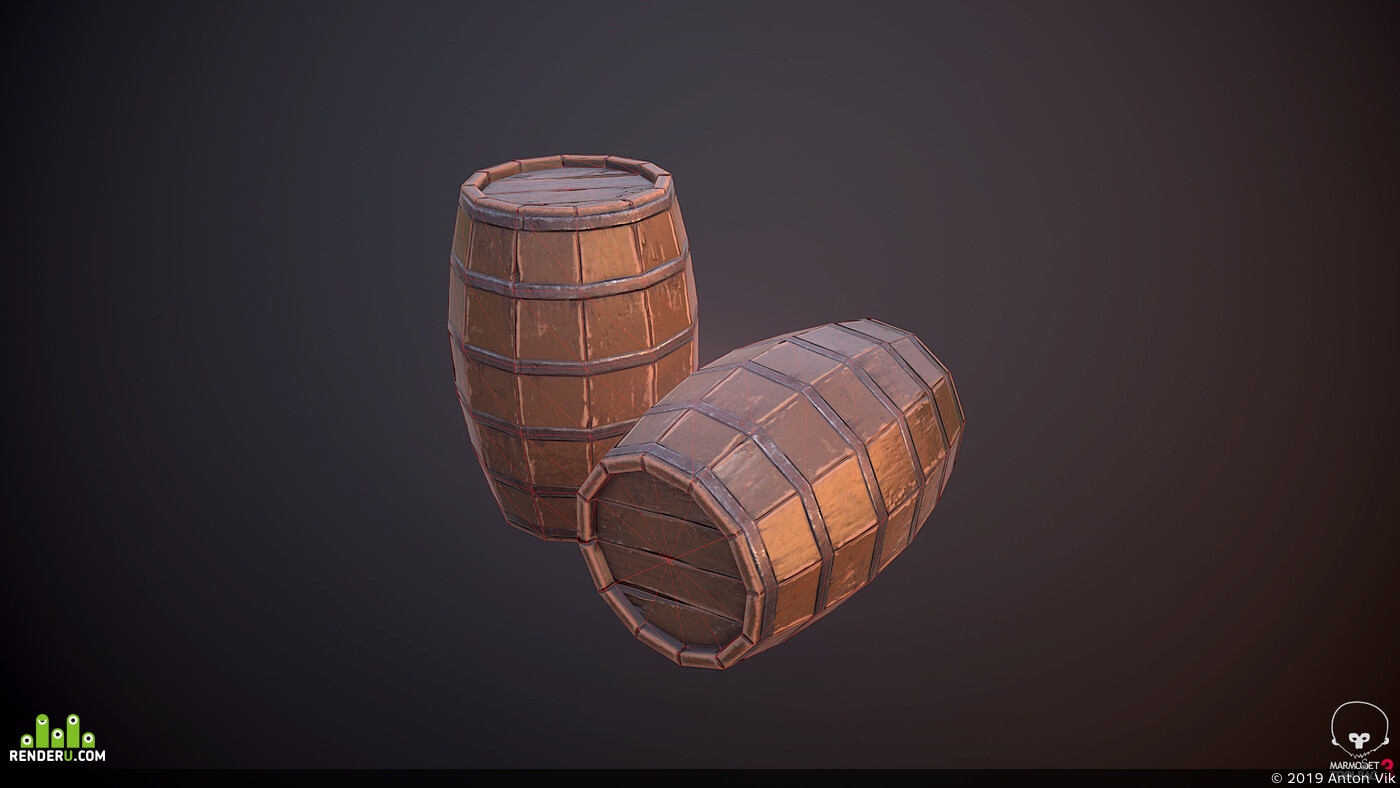 ZBrush, Maya, marmoset toolbag, substance painter, low poly, game asset, Game-ready, gameart, gamedevelopment, stylized