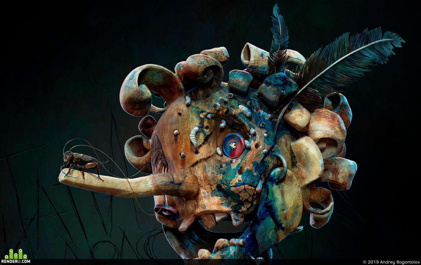 characterart, characterdesign, zbrushcharacter, sculpt, cgsculpt, Digital_Sculpture, 3d