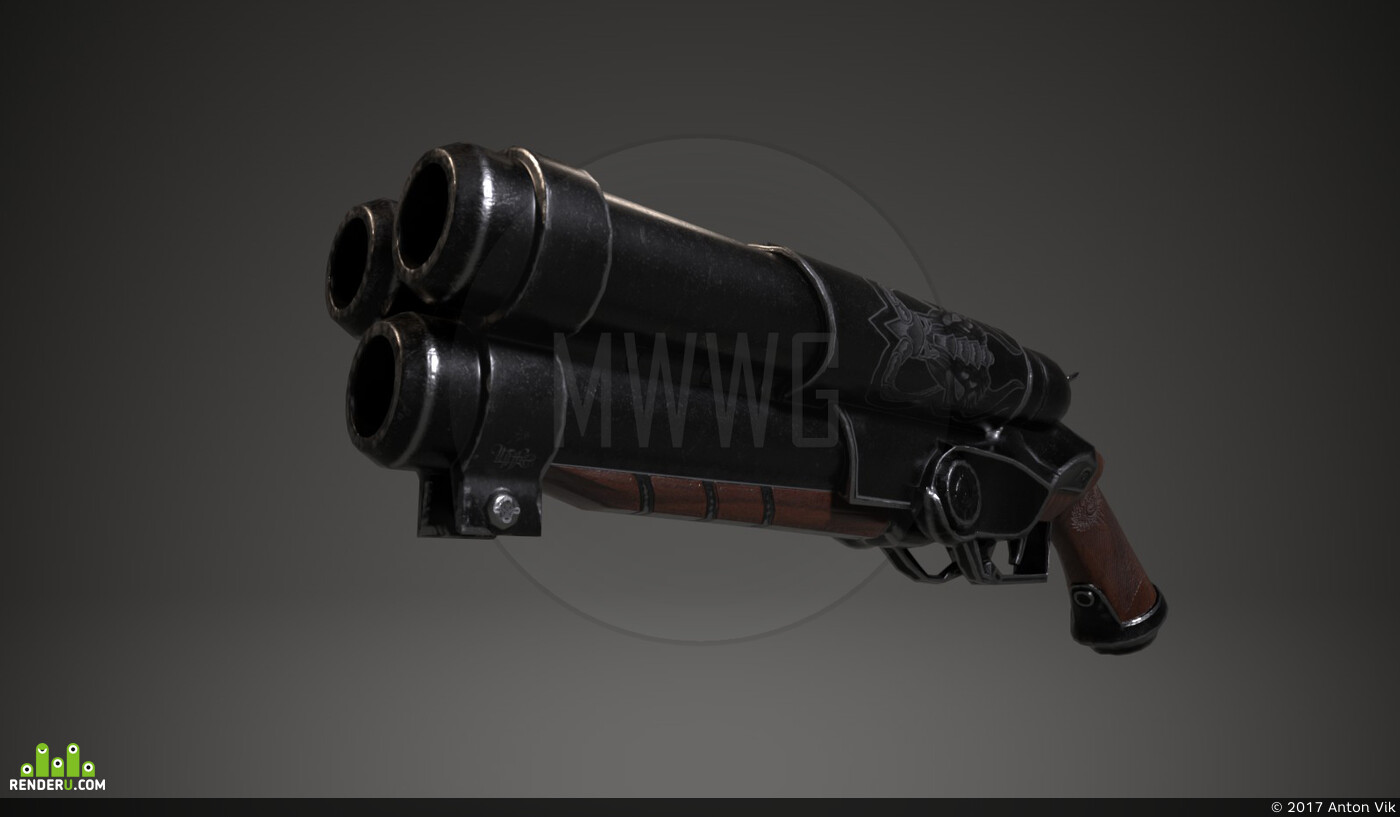 lowpoly, low poly, low-poly, mobilegame, game asset, Game-ready, gameart, gamedevelopment, indiegame, Weapons