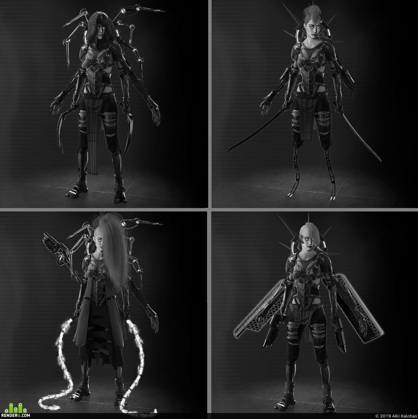 concept-art Character design_character Characters characterdesign characterart cyber punk cyber sci-fi sci-fi armor sci-fi helmet