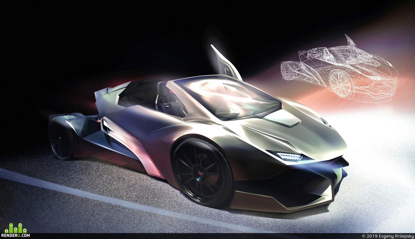 vector graphic adobe illustrator car 03