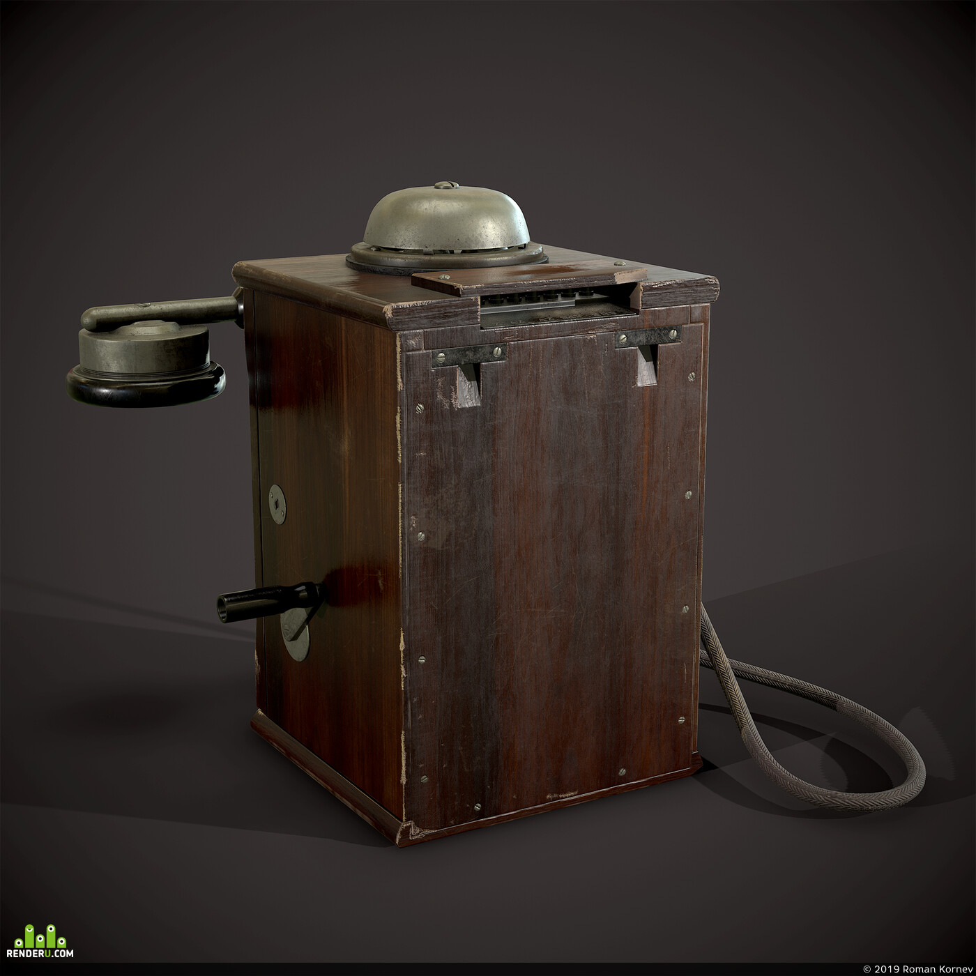 Game props, prop, Old, telephone