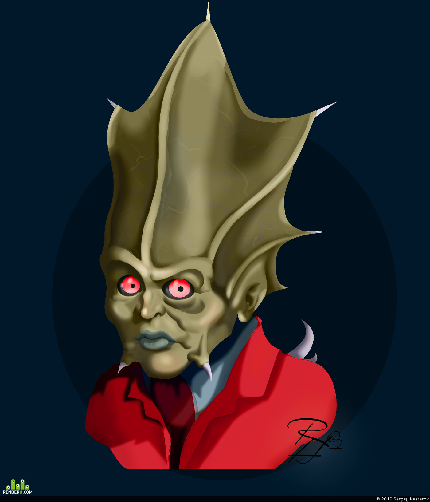 фанарт, Вампиры, vampire the masquerade bloodlines, игровой персонаж, Персонаж