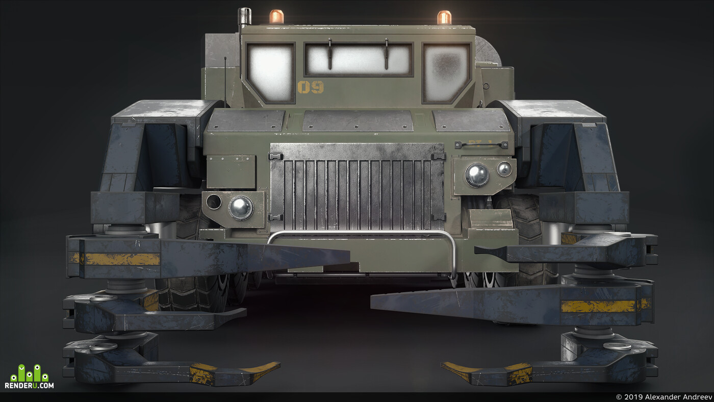 millitary, high poly, Highpoly, modeling, 3d
