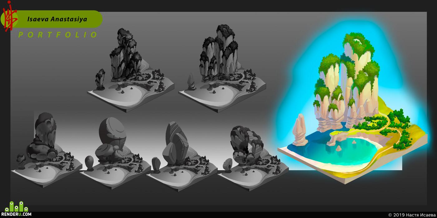 concept-art, 2dart, gameart, DIgital painting
