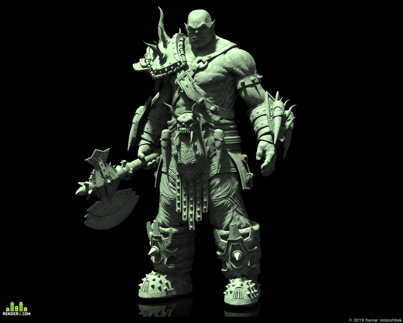 creature, design_character, orcdesigh
