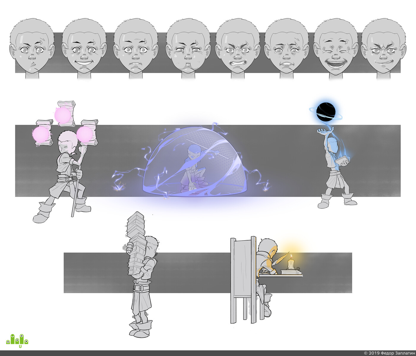 2D, 2dart, Digital 2D, 2D art, character2d, concept-art, concept, design_character, Character
