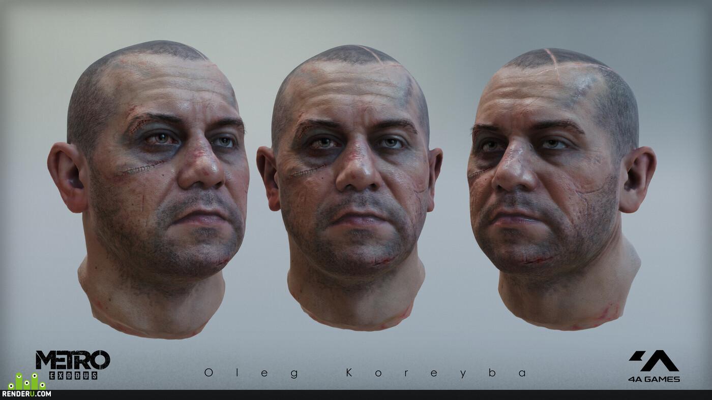 бандит, игровой персонаж, персонаж, Персонажи, 3д персонаж, 3d персонажи, мужской персонаж, игровая модель, 3d модель