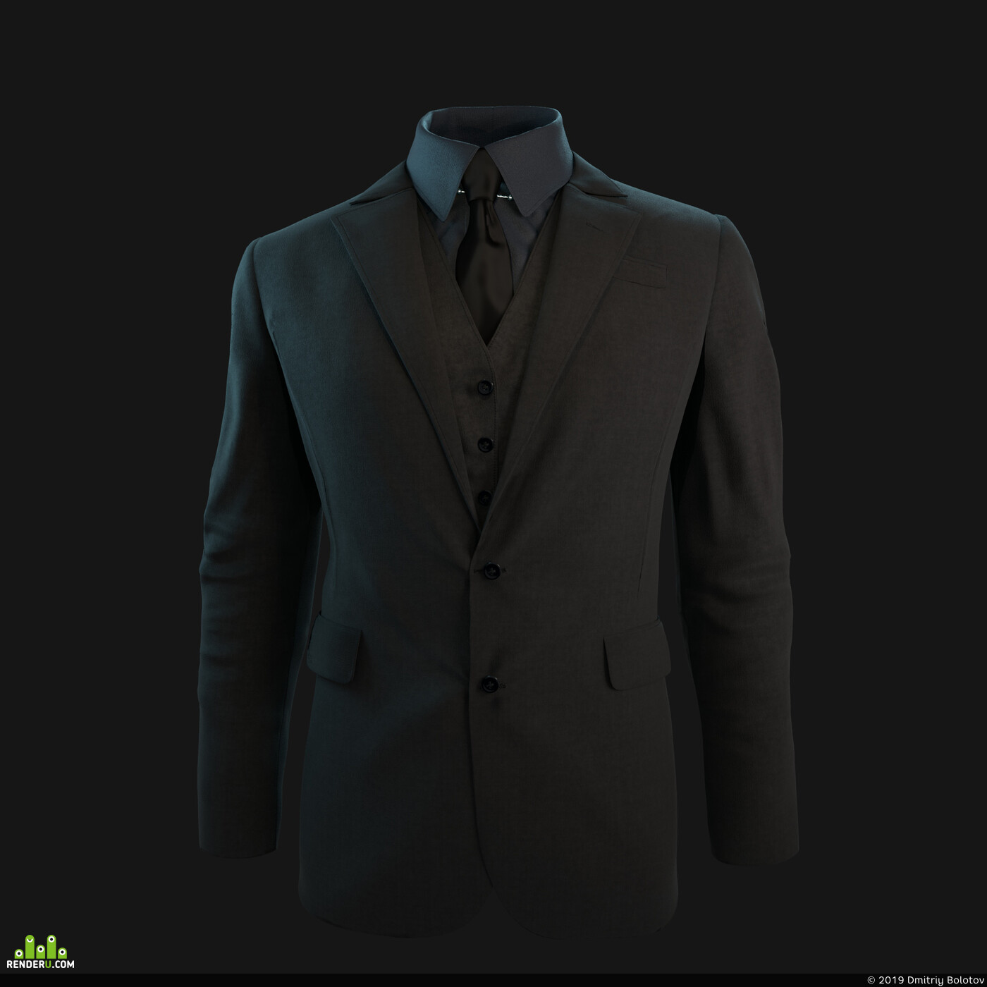 RenderMan, jacket, suit, Characters, male, cloths