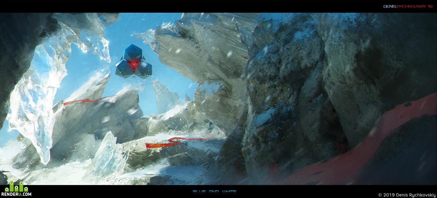 DenisAR, concept-art, keyframe, movie, sky, snow
