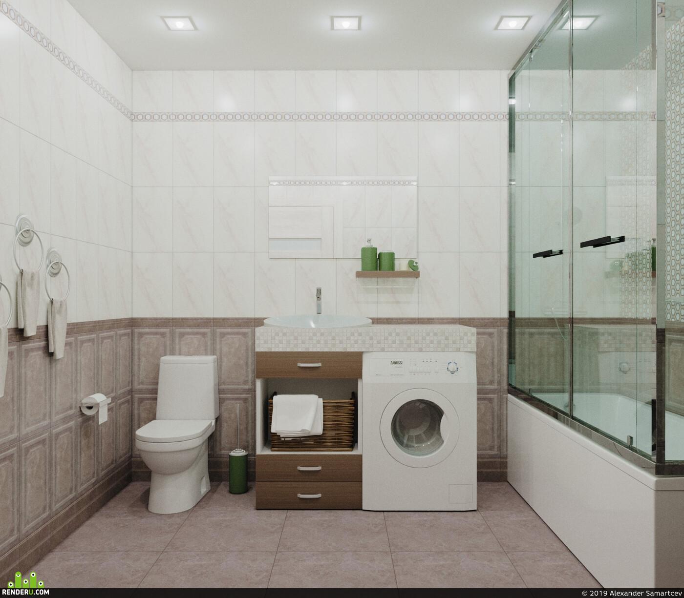 Ванна, ванная комната, санузел