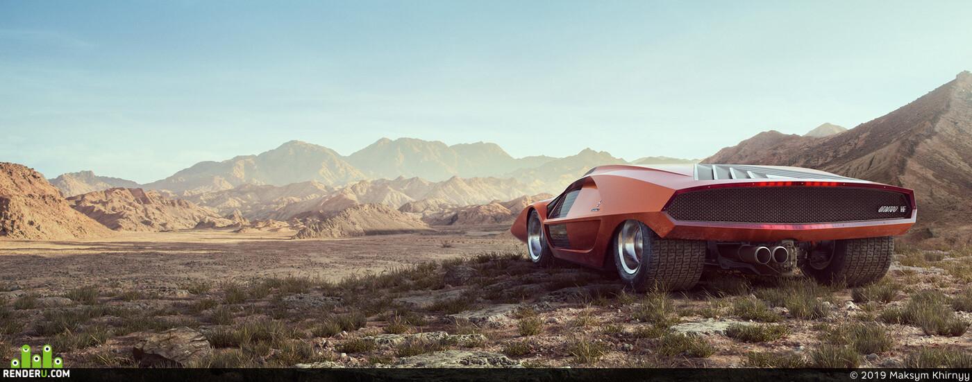 cgi, car, cars, lancia, fiat, Ferrari, alfaromeo, delta, rally