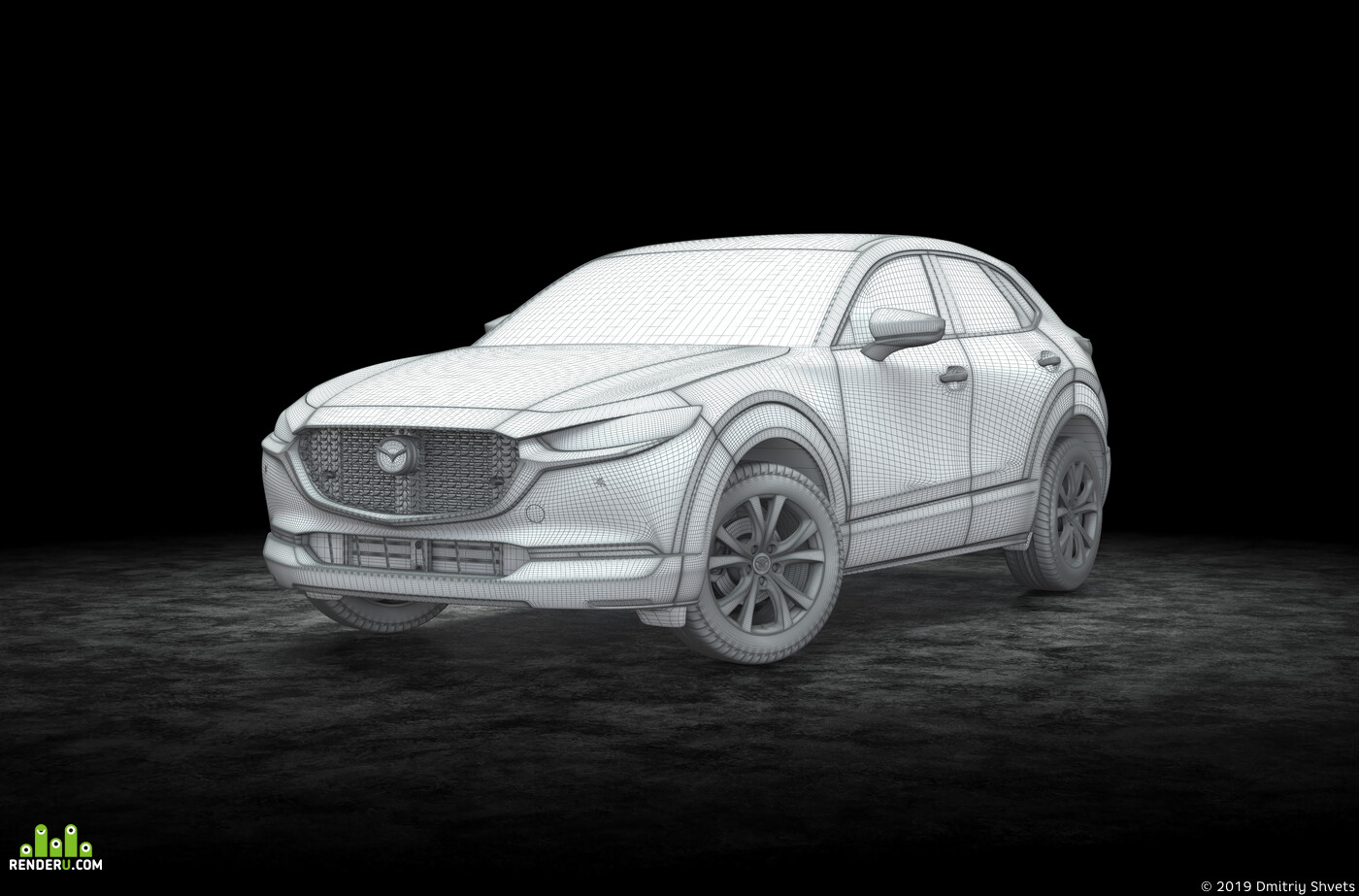 автомобиль, Mazda, Студия