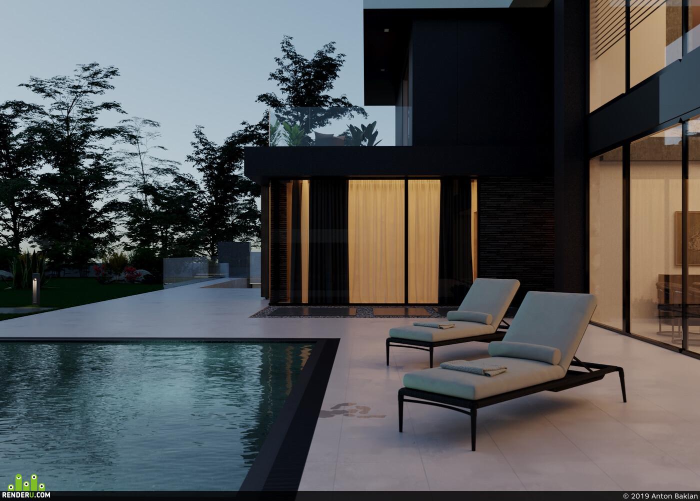 архитектура, минимализм, коттедж, дизайнсочи, архитектурасочи
