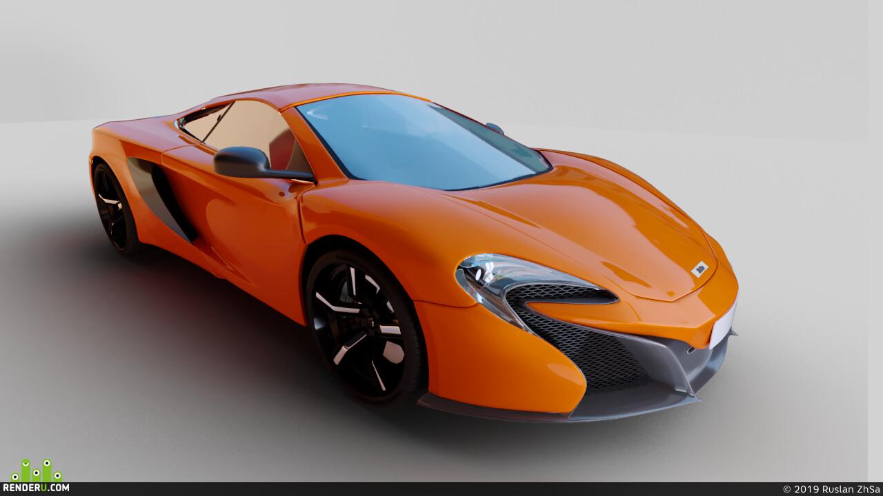 Спорт, автомобиль, Авто / мото, немецкий бронетранспортер, оранжевый, спорткар, mclaren, 650s, дорога, гонка