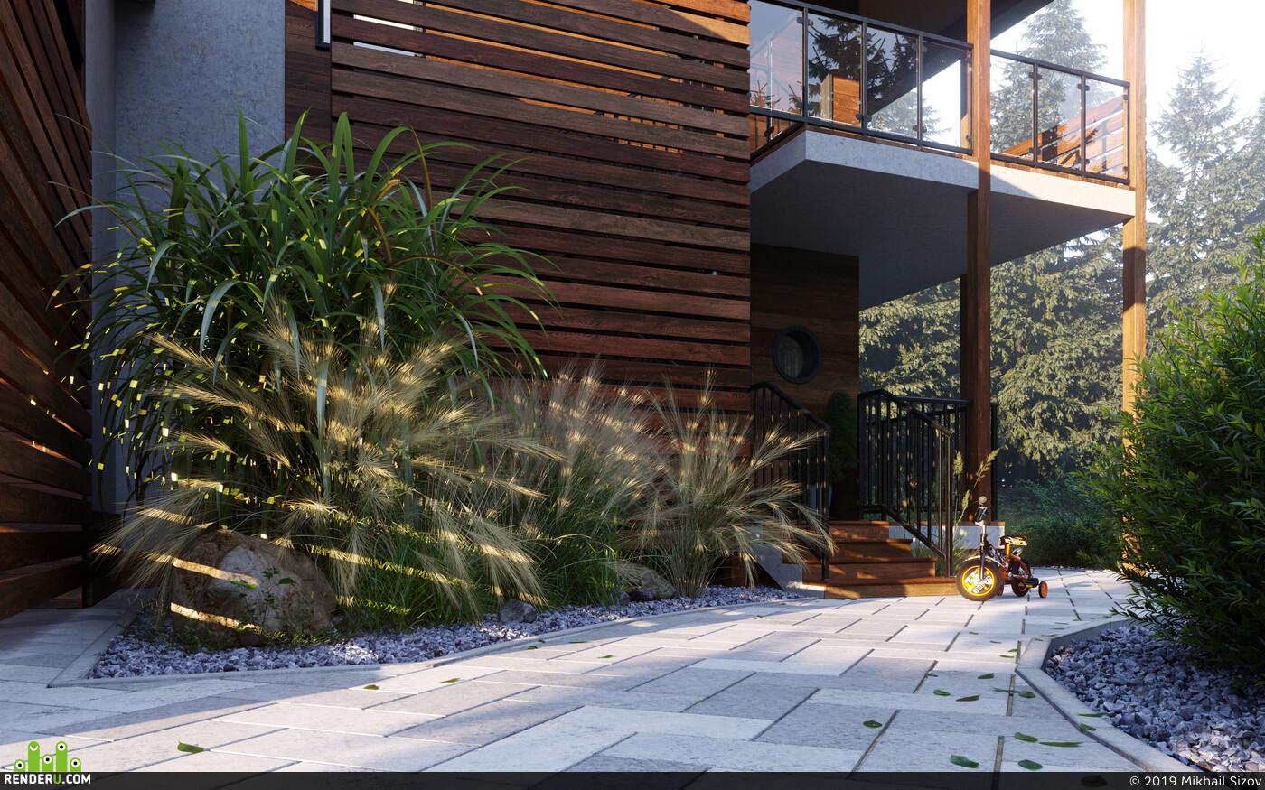 Architectural 3D Visualization, Exterior 3d visualization Corona Renderer corona 1.7 coronarenderer, RENDER 3D VISUALIZATION, visualisation, interior interior design design 3D 3D Studio Max 3D архитектура интерьер дизайн интерьера интерьер, visualization, Architectural3Dvisualizer, exterior visualization