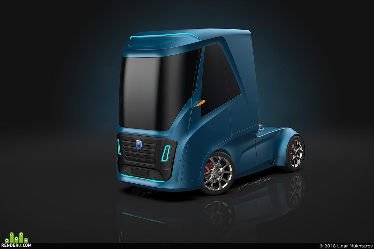 грузовик, truck