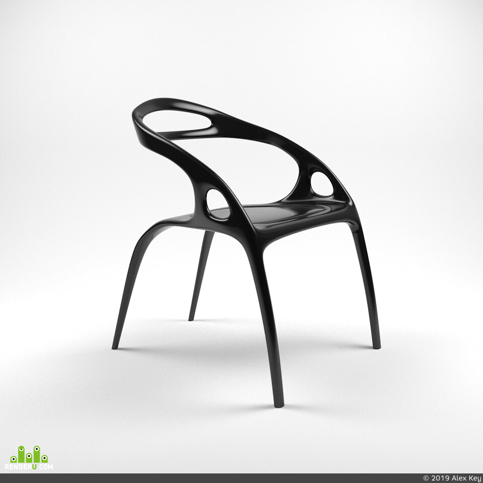 chair, STUDIO, render, Vray