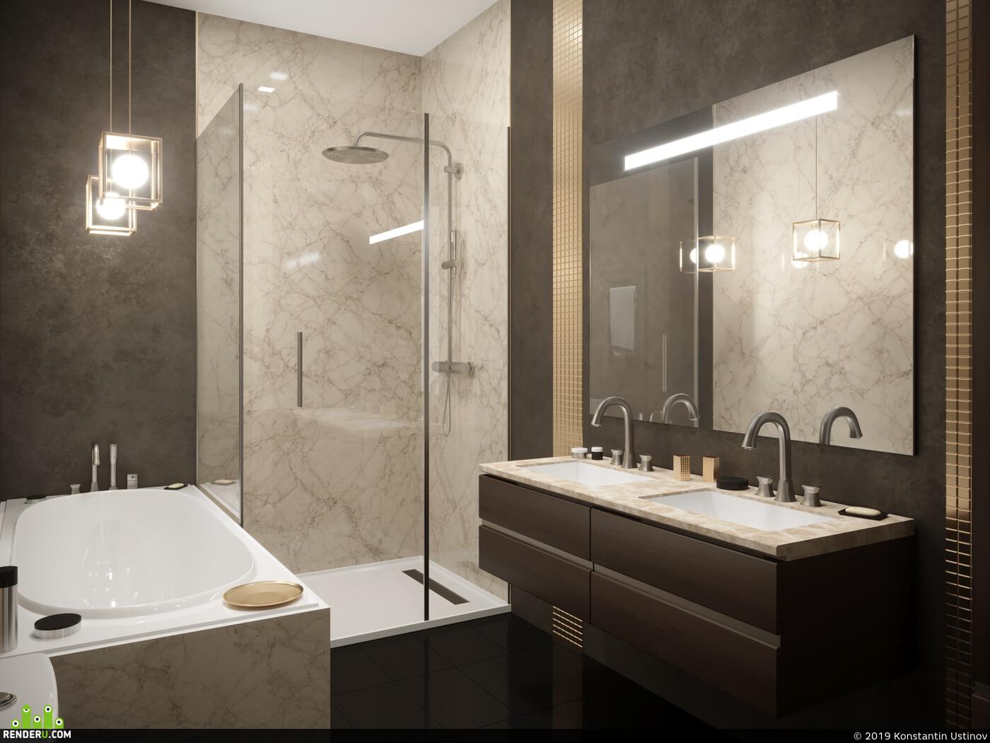 Ванна, Моделирование, 3d моделирование