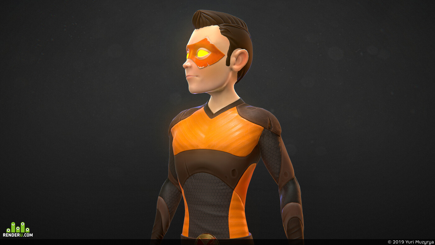 rigging, rig, Character, Animation, 3ds max, 3d, CG