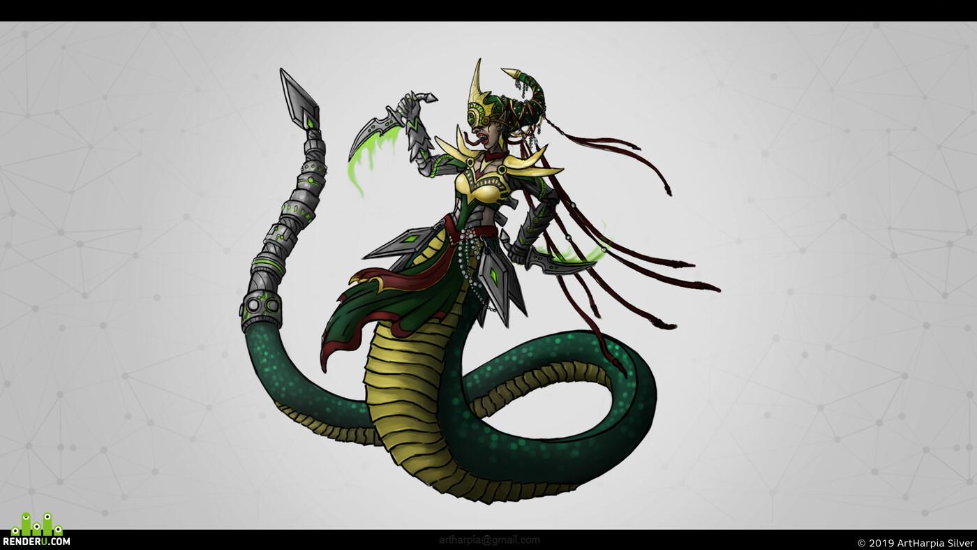 2D/Concept-art, concept-art, concept, enveropment, DIgital painting, Illustrator, Fantasy, game art, воин, магия