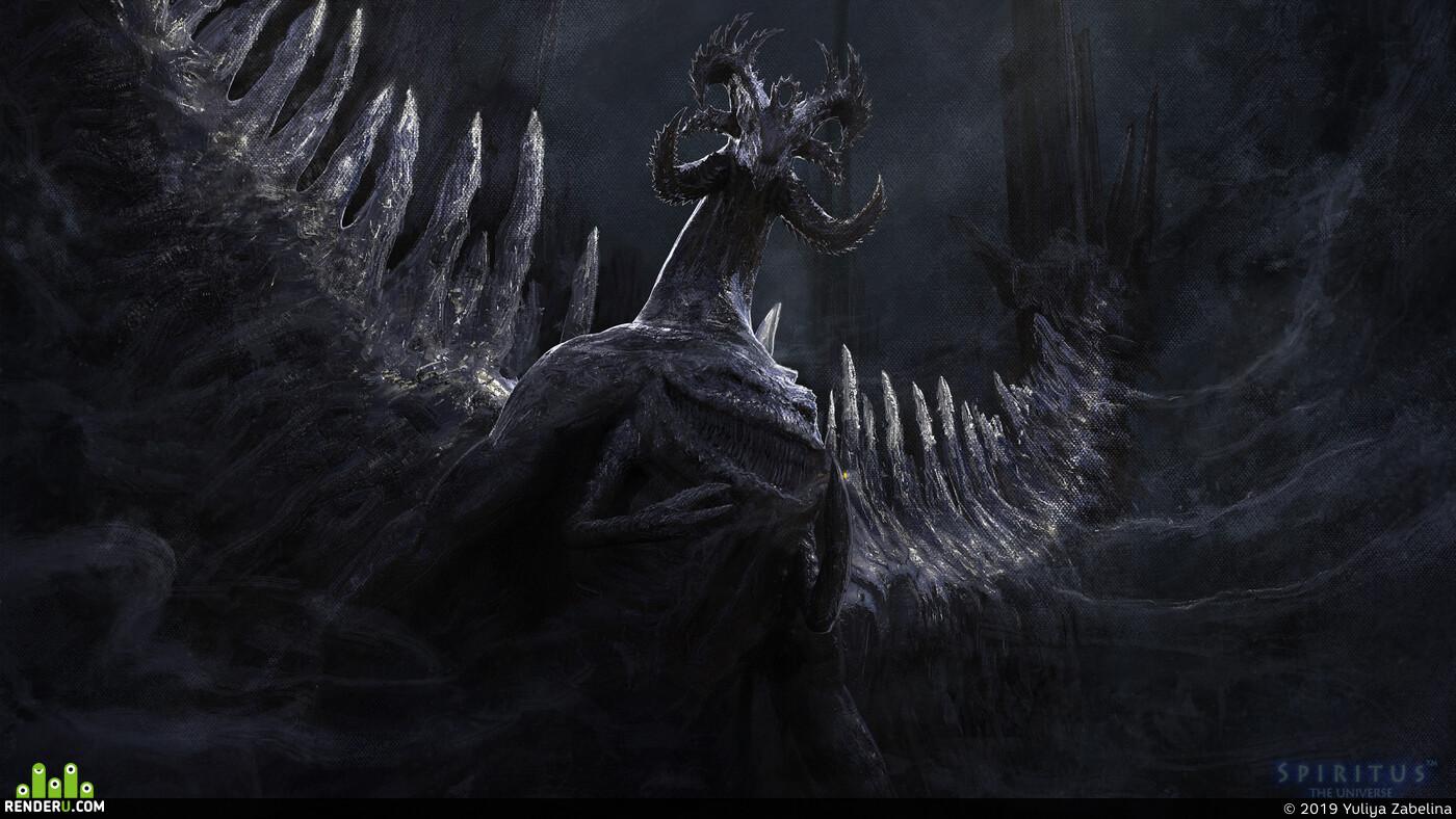dragons, aliens, Fantasy, scifi