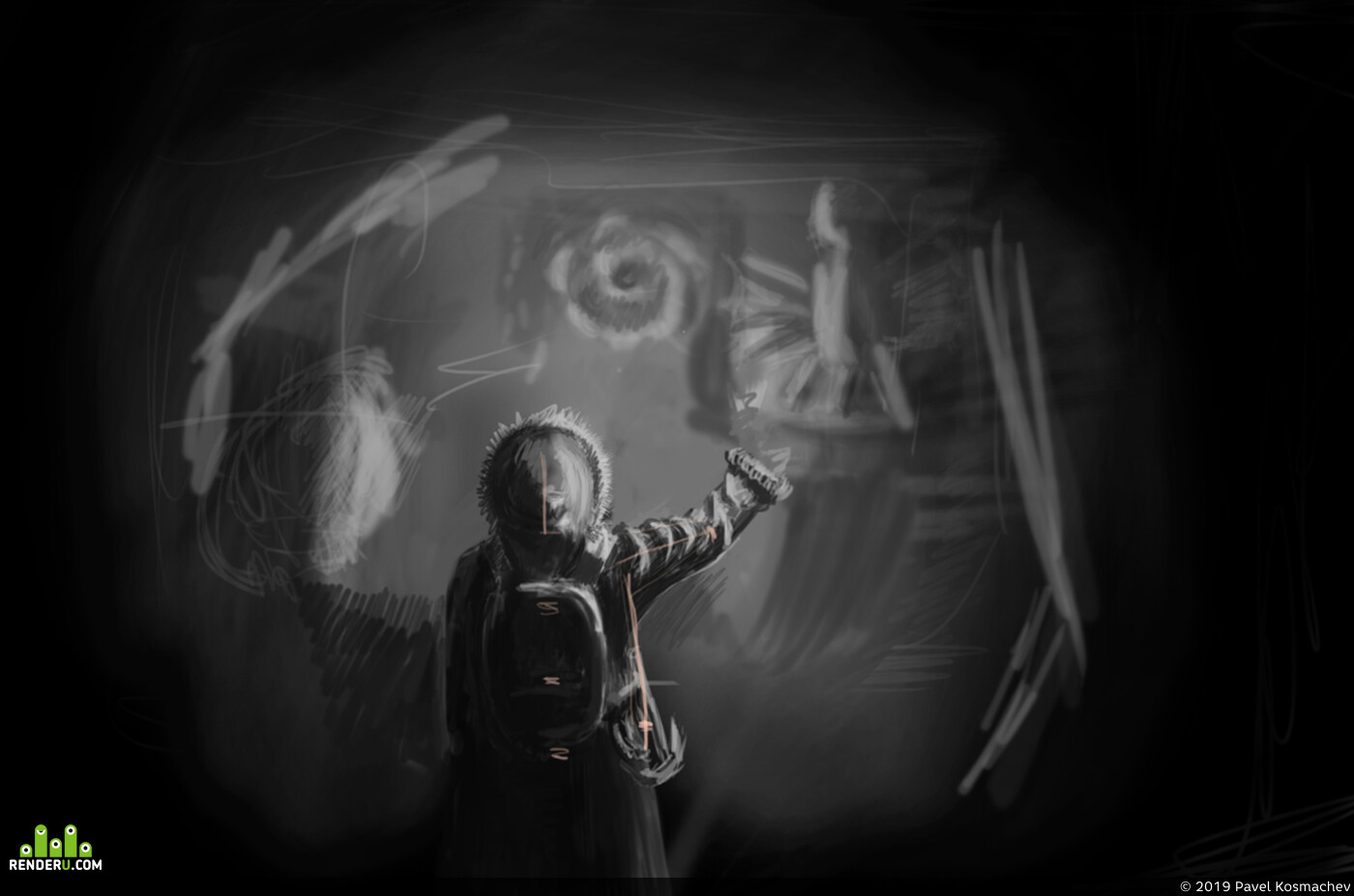 Madness Ridges (Howard Lovecraft), cthulhu, cave, adventure