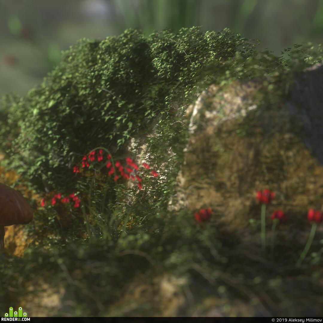 художественная визуализация, 3D-художник, Cinema 4D, OctaneRender, 3d, 3D environment artist
