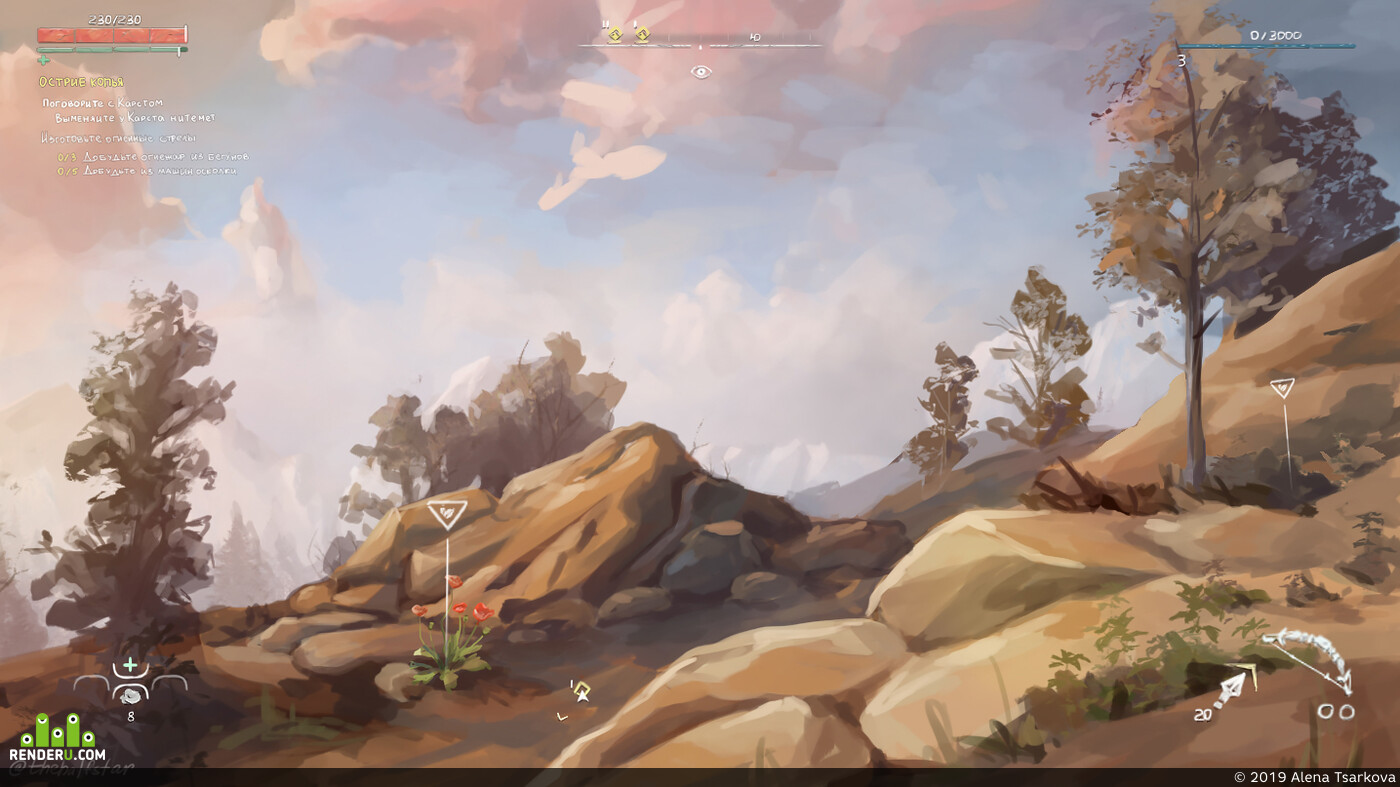 horizon zero dawn, environment, Environments, game art, game environment, Concept Art, landscape, rock, environment design, guerilla games