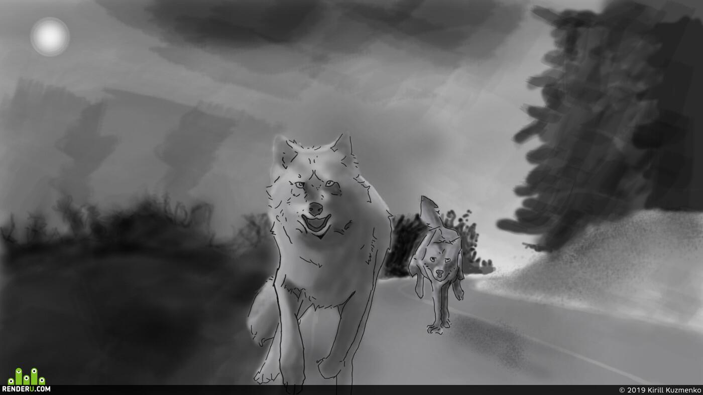 Волки, life is strange 2