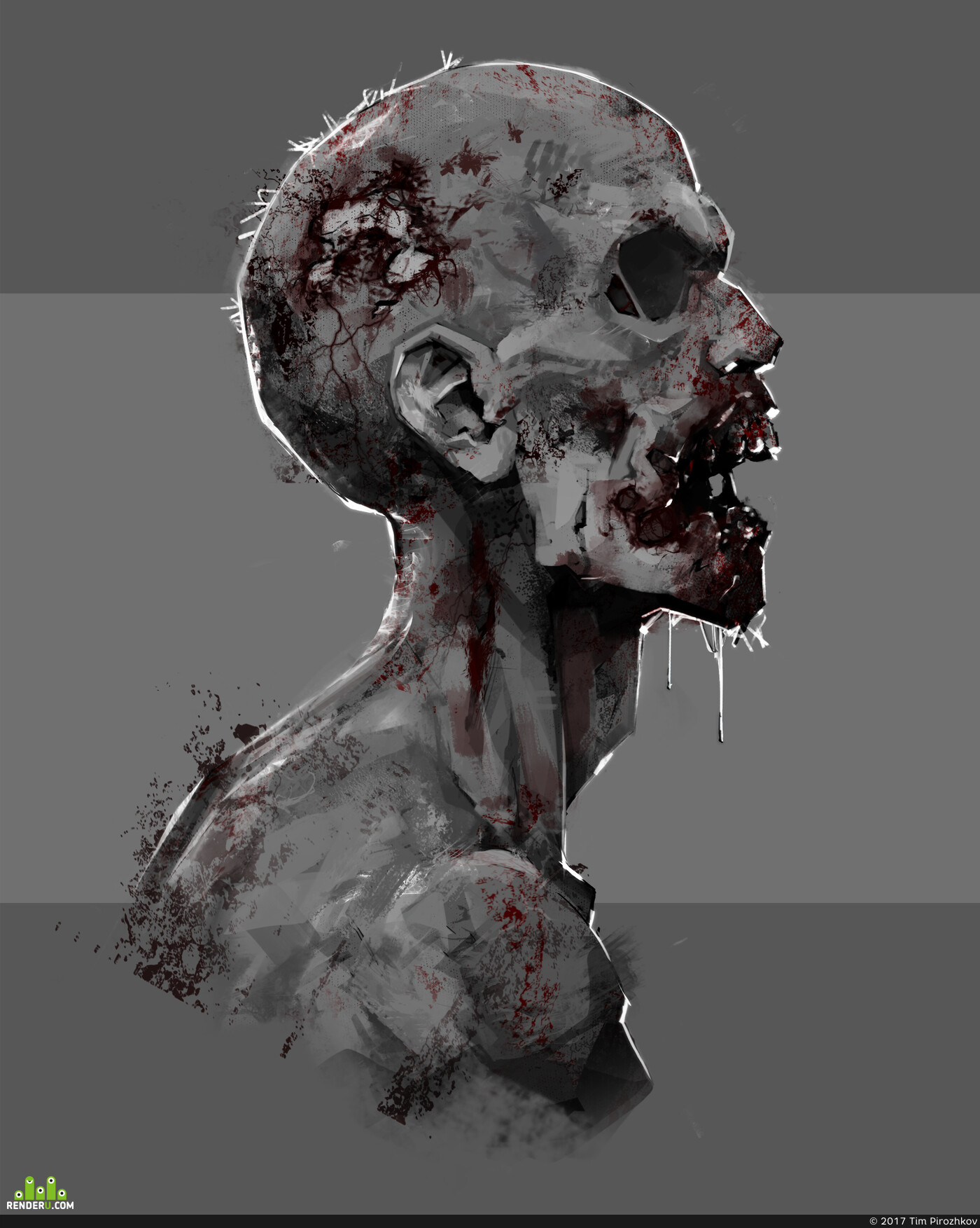 zombies, Зомби, Concept Art