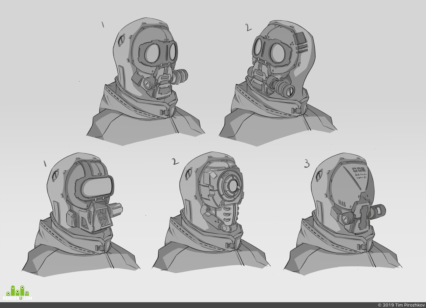 cyborg, Cyberpunk 2077, concept_art