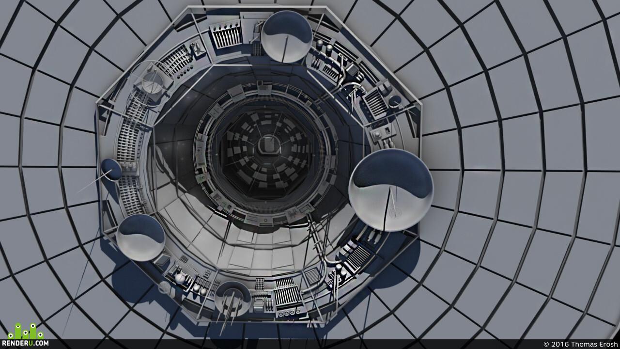 3d, CG, cg artist, Space, Spaceship, spacecraft