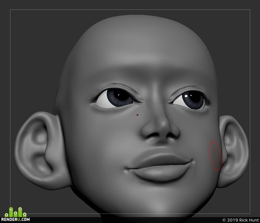 3dartist, 3dart, Character, design_character, 3d character, ZBrush, zbrushsculpt, Photoshop, Adobe Photoshop