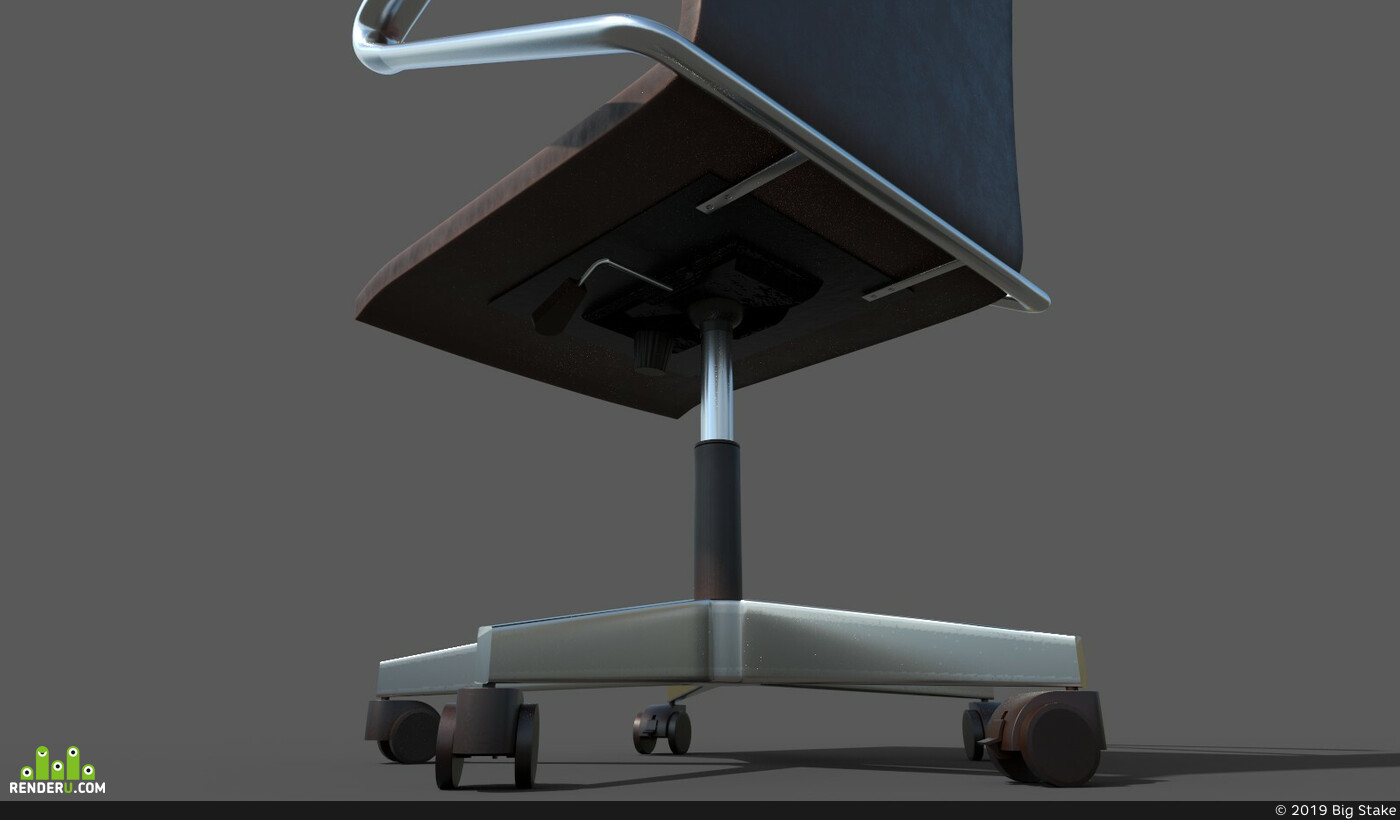 office, armchair, Vray, unreal, furniture, unrealengine4, officefurniture, chair-furniture, office_chair, substancepainter