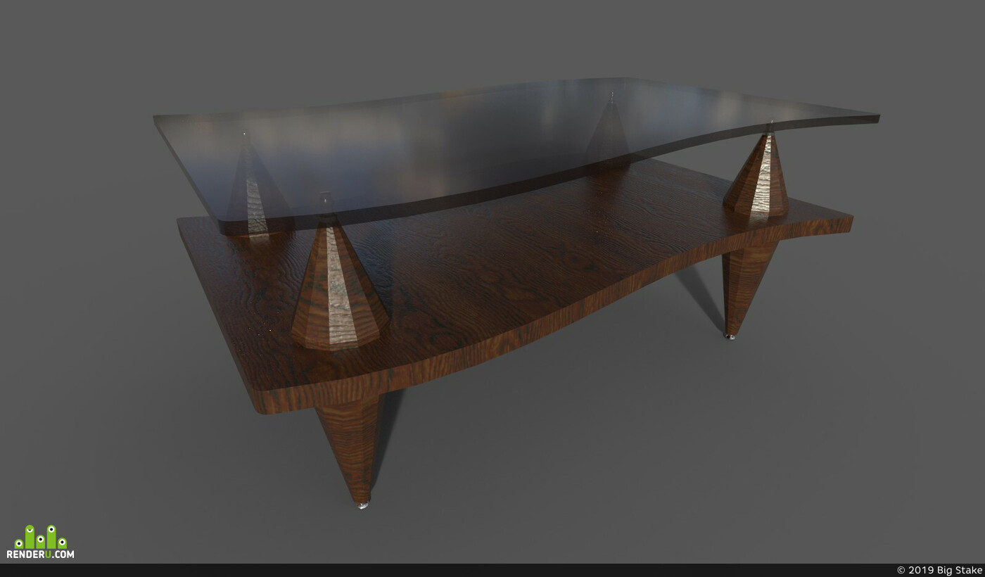 Digital 3D, Environments, Architecture, interior, unreal, Old, Leather, antique, Vray, tablet