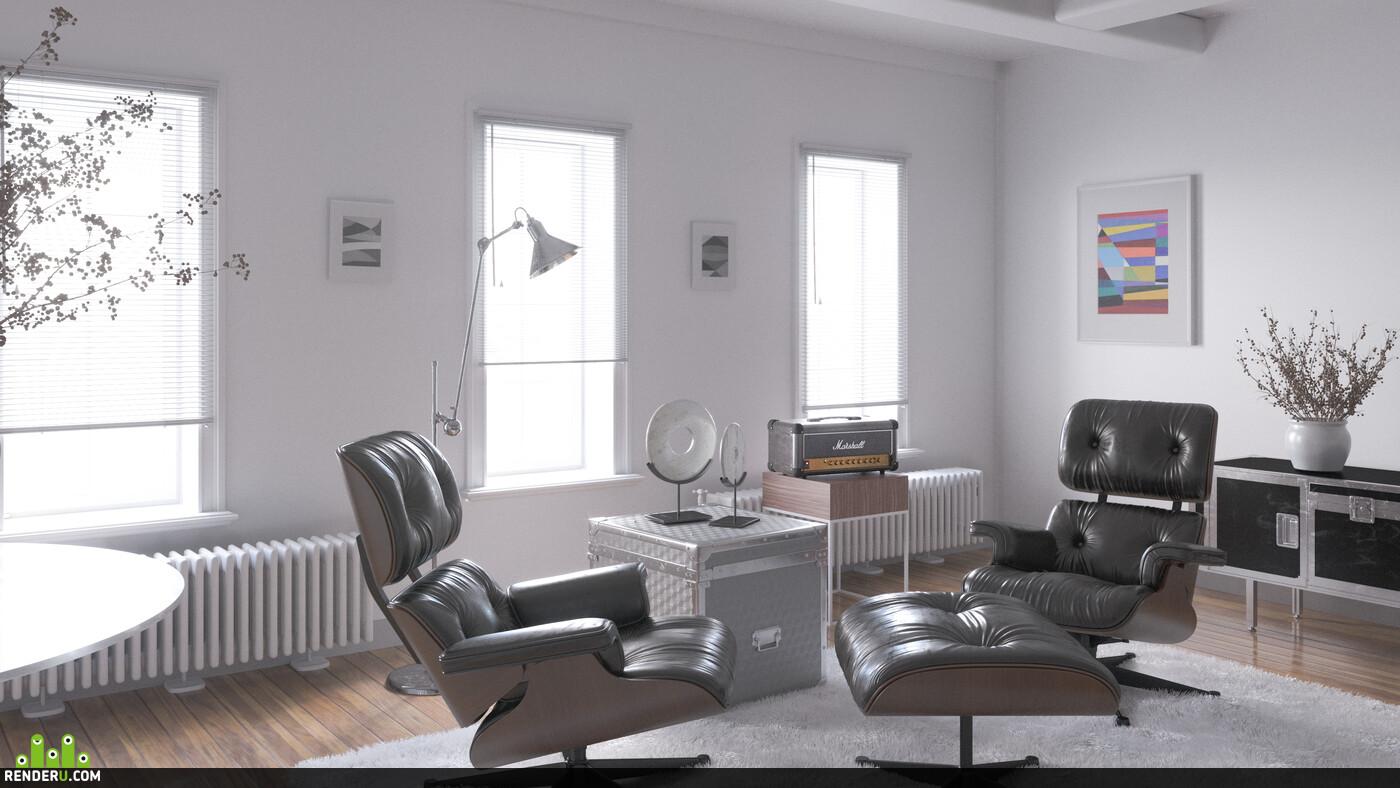 3ds Max, 3D Architecture, 3D composite, 3d visualization, interiordesign, coronarenderer, corona render, corona, visualisation interior corona