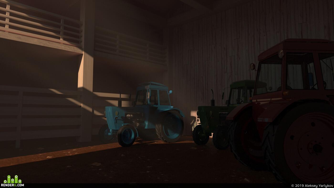 трактор, мтз, мтз81, сделал сам