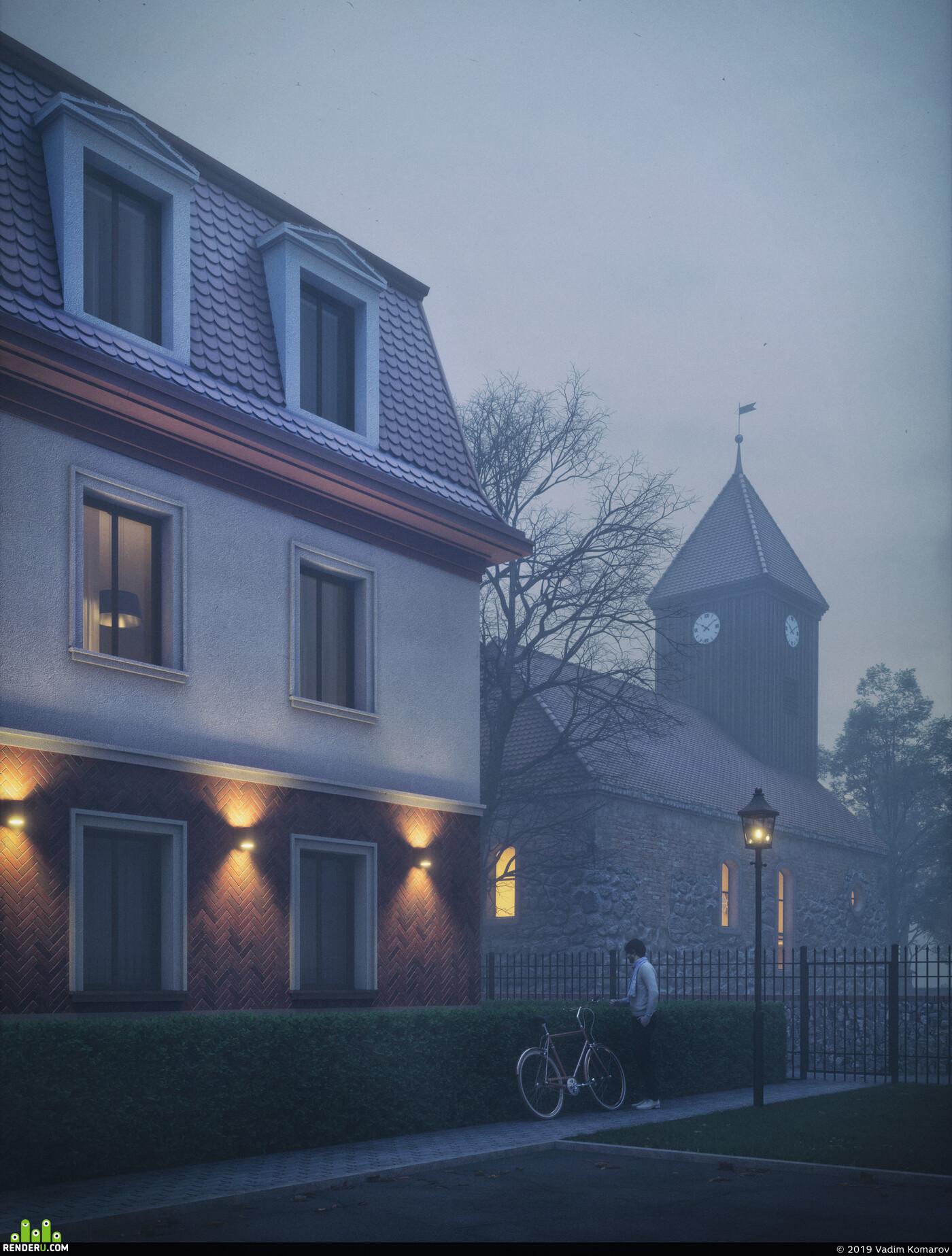 Cinema 4D, visualisation, Exterior, Architecture, cgi, rendering, render, Octane Render, octane, 3d vis